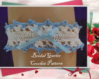 Bridal Garter Crochet Pattern