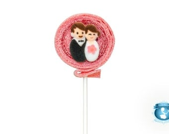 Bride and Groom Sour Lolli's - 8