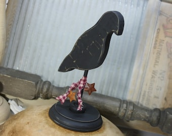 Crow Primitive Decor