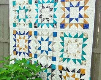 Quilt Pattern   Beau Nova Quilt