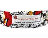 Kids Medical Alert Bracelet Safety ID Fabric Wristband - Angry Birds