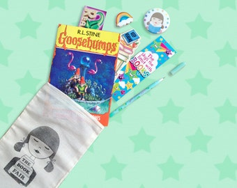 The Book Fair Nostalgia Kit // Goosebumps Edition