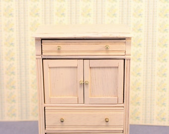 Dollhouse Chest of Drawers Highboy Miniature Furniture Town Square