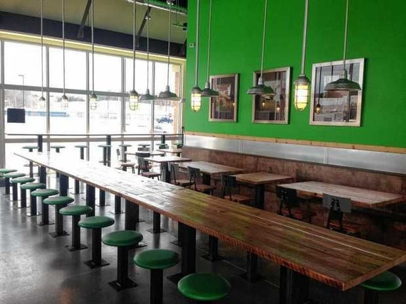 Custom furniture for bars and restaurants in choice of sizes