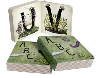 Children's ABC Board Book - Animals, Beasts, and Creatures