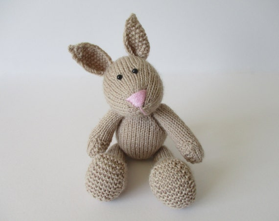 Nibbles the Bunny toy knitting patterns