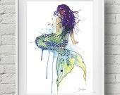 Mermaid: print