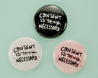 """1"""" CONSENT buttons"""