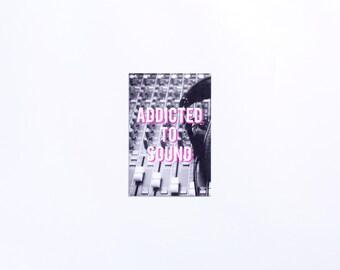 Addicted | Addicted to Sound Postcard