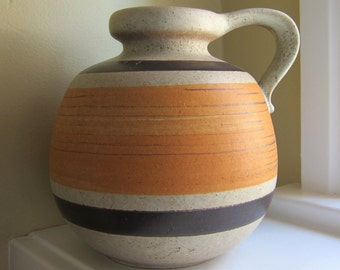 SALE! Vintage Scheurich West Germany Jug/Vase