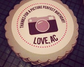 In a Flash Camera Collection: Set of 8 Circle Favor Tags. Tags. Favors. Birthday Tags. Instagram. Photographer. Photography. Photo.