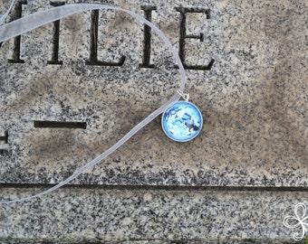 Moira (Blue) Moon Pendant Necklace