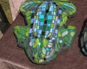 Glorious Garden Frog Mosaic