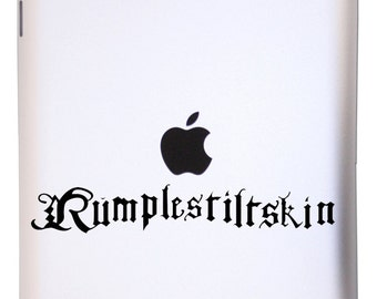 Rumplestiltskin Dagger - VInyl Decal Sticker