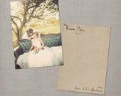 "Custom wedding thank you cards - 5x7 - thank you cards - the ""Lana"""