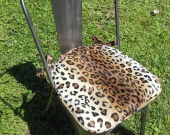 Leopard Print Chair Etsy