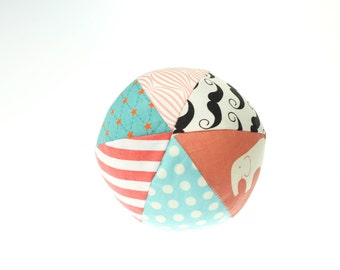 "Vintage Carnival Small (4"") Cloth Ball"