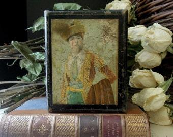 Antique Chas Tollner Wood Box / Thread Sewing Box / Victorian Box / Wooden Box / 1890 / Collectible Box / Charles Tollner Box