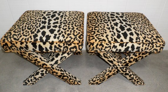 Leopard XBenches - PAIR