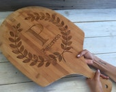 Personalized Engraved Pizza paddles: Custom Listing for Rachel