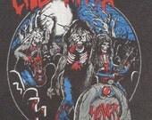 Original SLAYER 1985 tour SHIRT