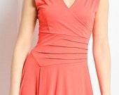 elegant summer dress.