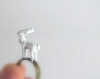 white deer jewelry