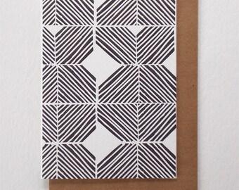 Warp & Weft Letterpress Card