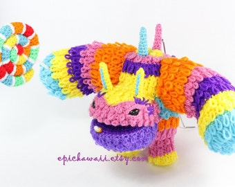 PATTERN: Pain-Yatta Skylanders Trap Team Crochet Amigurumi Doll