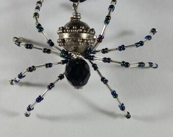 Steampunk Spider Necklace