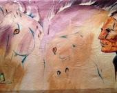 "Native American Art - ""I Remember Horses"""