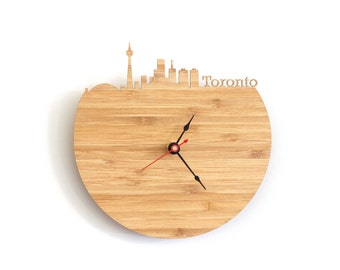 Wall Clock - Toronto Skyline
