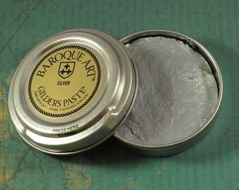 Gilders Paste - SILVER Gilders Paste - Metal Colorant - 1.5oz tin