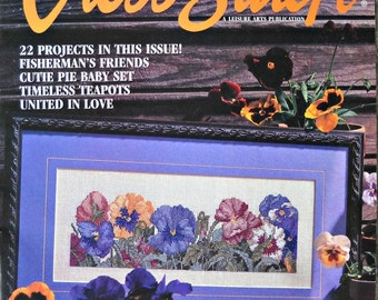 For the Love of Cross Stitch, Volume 8, Number 4,