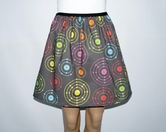 Electron Shells skirt - Chemistry -  made to order