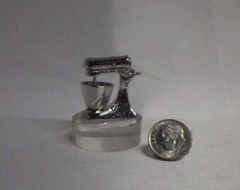Kitchen Mixer Miniature for Fairy Garden or Dollhouse Kitchen Cooking Fun