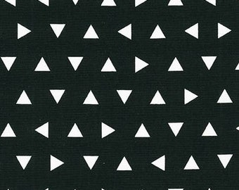 Straight Crib Skirt - Black Triangle Remix - Black Triangle Crib Skirt