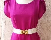 Pink Vintage Blossom Shift Dress