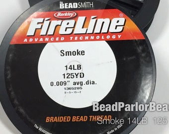 Fireline 14lb Smoke Grey 125 yd
