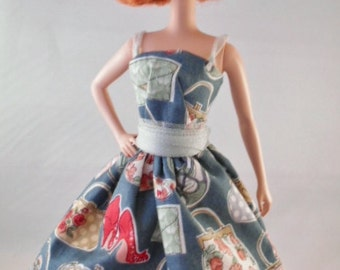 "Vintage Handmade Barbie/Silkstone/Integrity Dress ""/vintage Days"" by Hilary"""