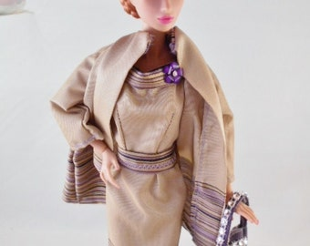 "Vintage Barbie/Silkstone/Integrity Handmade Fashion-""World Traveler"" by Hilary"