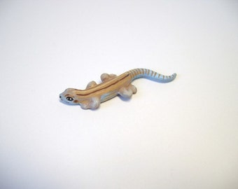 Lizard, miniature ceramic lizard