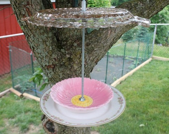 Glass, China and Pottery Hanging Bird Feeder