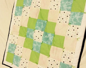 Baby Play Mat/ Small Quilt