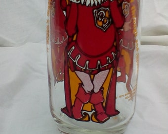 """Burger King glass """"DUKE OF DOUBT"""""""