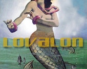 MATURE... Sexy Vintage Mermaid Art... Vintage Erotic Art... Instant Digital Download