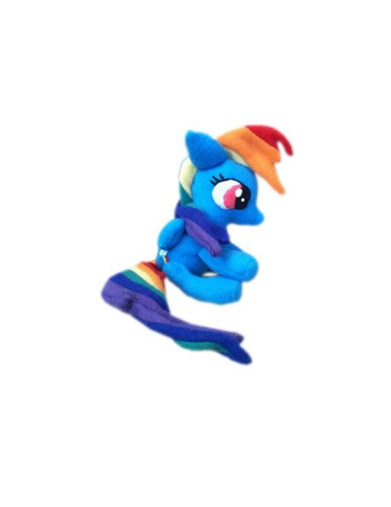 Rainbow Dash mini plush