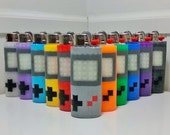Gameboy Perler Bead LIGHTER CASE - original - gameboy color - zelda - mario - megaman - tetris - pokemon - gamer - gaming