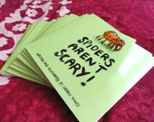 LIMITED EDITION Spiders Aren't Scary! Book