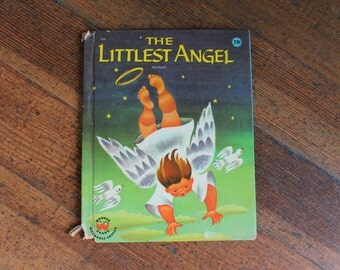 Collectible Vintage Children's Book - The Littlest Angel, Abridged (Charles Tazewell - 1960)